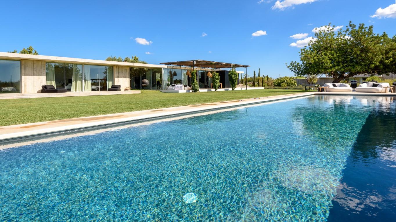Villa Cosmic. 6 bedrooms villa in Ibiza for rent