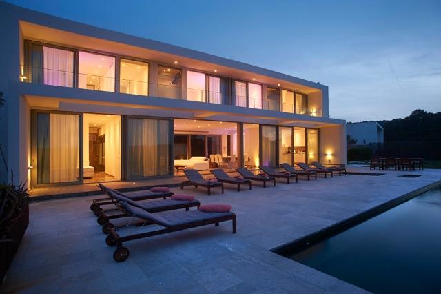Villa Animal. 6 bedrooms villa in Ibiza for rent