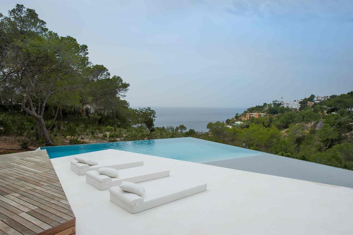 Villa Violetas. 5 bedrooms villa in Ibiza for rent