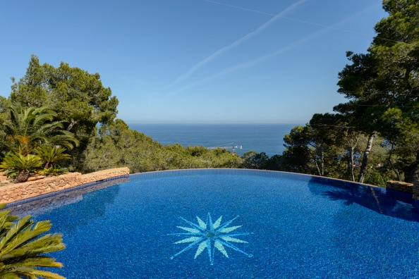 Villa Toskan. 5 bedrooms villa in Ibiza for rent